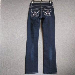 Wrangler Western Retro Booty Up Mae 10MWZBR Jeans